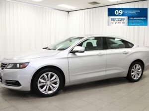 2018 Chevrolet Impala LT - Leather, Sunroof, V6 and 0% Financing