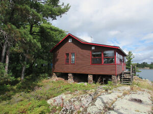Cottage on North Shore of Georgian Bay near Killarney Prov. Park