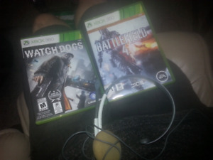 Watch dogs, battlefield 4 and a headset 25$!