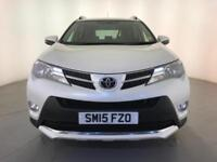 2015 TOYOTA RAV4 INVINCIBLE D-4D DIESEL FULL LEATHER 1 OWNER SERVICE HISTORY