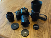 Olympus E-3 and 3 lenses