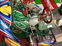 Tonykart 2014 rookie chassis 5 to choose from micromax Go Kart