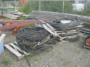Variety of electrical cable.