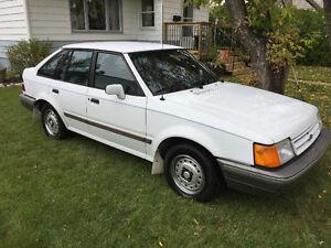 1988 Ford Escort Hatchback