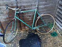 Very rusty bike free for collection
