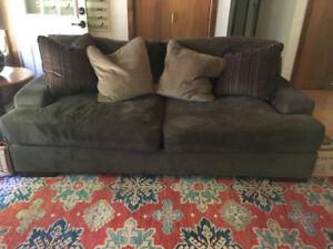 Big Comfy Couch & Ottoman