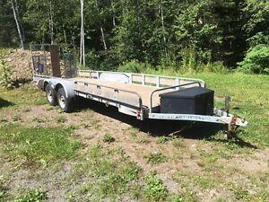 20' utility trailer