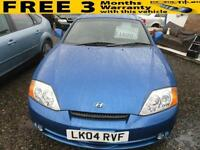 2004 HYUNDAI COUPE 2.0 SE VERY LOW MILEAGE