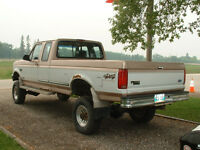 1997 Ford F-250 4x4 super cab powerstroke diesel lifted DANA 60