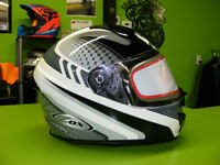 XS to Large - Silver Full Face Helmets at RE-GEAR Kingston Kingston Area Preview