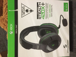 XBOX One wireless headset. NEVER USED