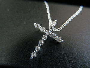 """18"""" STIRLING NECKLACE WITH CROSS PENDENT Kitchener / Waterloo Kitchener Area image 1"""