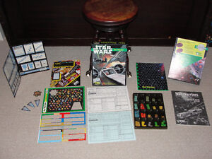 Star Wars Star Warriors Board Game 1987 London Ontario image 2
