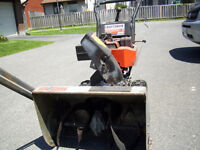 snowblower in good condition