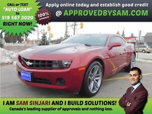 CAMARO - Payment Budget and Bad Credit? GUARANTEED APPROVAL.