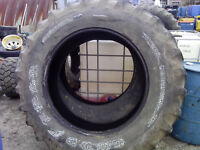 used pair tractor tires 18.4x38