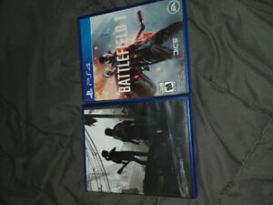 Battlefield, Call of Duty, Assassin's Creed, ps4 game's