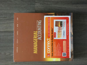 Managerial Accounting - Ninth Canadian Edition