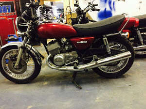 Kawasaki 400 Triple for sale rare