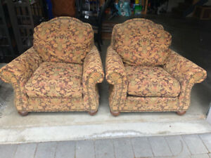 2 Ethan Allen Lounge Chairs