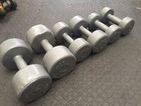 Pro Fitness Plastic Dumbbell set