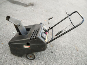 Murray select single stage two stroke 4.5hp 21 cut snow blower