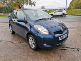 Toyota Yaris 2010, 1.0 petrol manual.