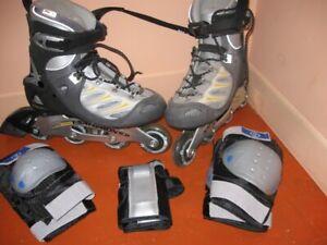patin a roues alignées