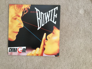 David Bowie China Girl 33 1/3 RPM vinyl LP