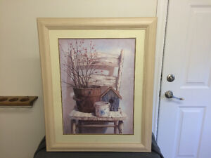 "Vivian Flasch ""Country Chair"" Print Sarnia Sarnia Area image 4"