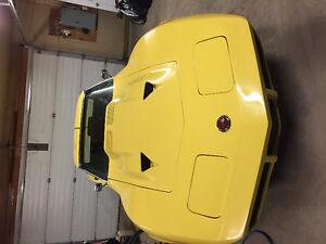 1974 Corvette Yellow