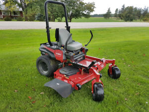 Toro Zero Turn Mowers, all models from 2016 or newer. Low Hours.