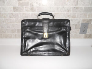 """Leather Briefcase - """"Renwick"""""""