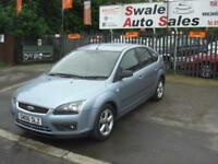 2006 06 FORD FOCUS 1.6 ZETEC CLIMATE PETROL 5 DOOR GREAT FAMILY CAR IN GOOD COND