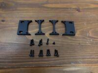 Motu 1U Rack Mounting Parts (full and double rack)