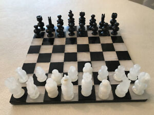 Onyx Marble Hand Carved Chess Set