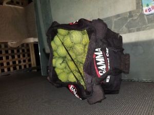 Sac et balles de tennis/ tennis balls and  bag for it