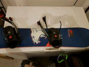 D.Walsh snowboard