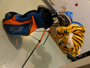 Ping Moxie Junior Golf Clubs and stand bag