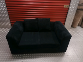 2 seater Jumbo cord sofa local delivery available