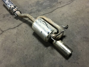 JDM HONDA ACURA RSX DC5 MUGEN TWIN-LOOP MUFFLER FOR SALE