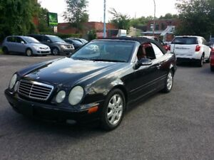 2002 MERCEDES CLK 320 CONVERTIBLE.VERY CLEAN!