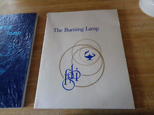 The Burning Lamp Yearbooks 1973 and 1974