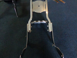 Harley backrest and rack     recycledgear.ca Kawartha Lakes Peterborough Area image 1