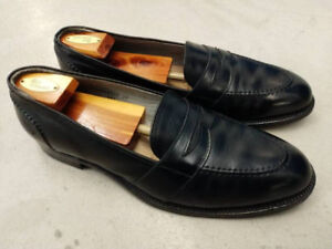 exc cond mens $600 Alden Black Men's Calf Leather loafer $100