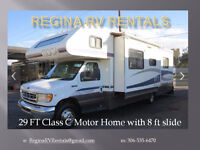 Motor Home for Rent - 1998 Tioga 29' Class C with slide