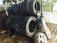 Free tires and racks