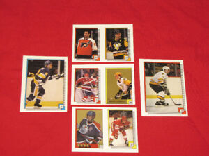 35 Hall of Famer hockey stickers from 1980s and early 1990s