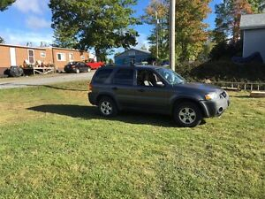 2005 Ford Escape XLT 3.0 L 4WD 4X4