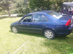 2001 Honda Civic 4 door 240000km
